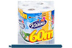 Karino Neutro | Folha Simples 8 rolos de 60m