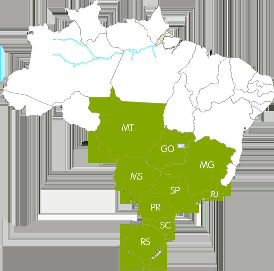 Região de Atuação