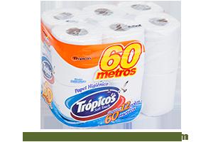 Trópicos Neutro | Folha Simples 12 rolos de 60m