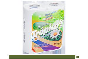Trópicos Camomilla | Folha Simples 4 rolos de 30m