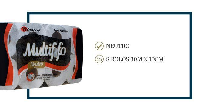 Multif.fo 8 rolos
